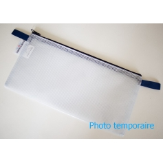 La POCHETTE PVC MESH - 170 x 130 mm